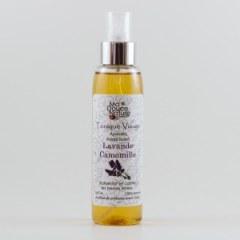 Lotion tonique visage camomille, lavande et rose 125 ml