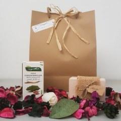 Coffret cadeau huile d'argan et savon huile d'argan 100% naturel