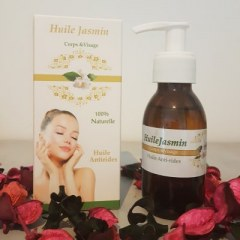 Huile de Jasmin pure 100% naturelle 100 ml